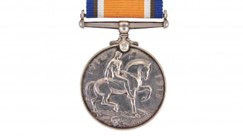 wwi silver medal