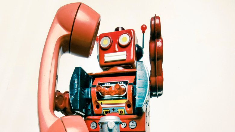 automated call center robot