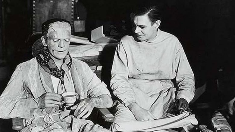 frankenstein set photo