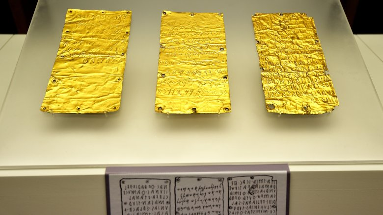 etruscan tablets