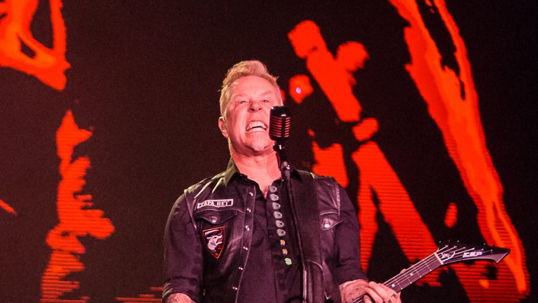 Metallica performing live in Brazil