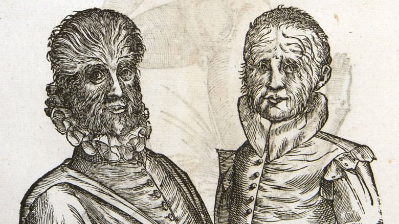 Petrus Gonsalvus and son
