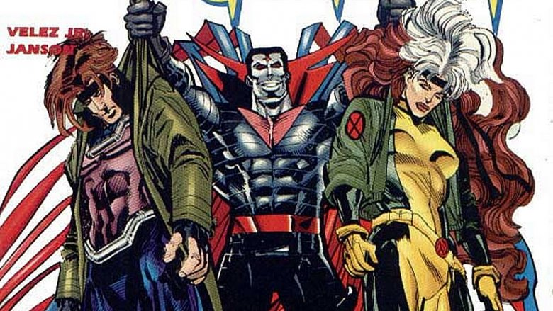 Gambit Rogue Mister Sinister