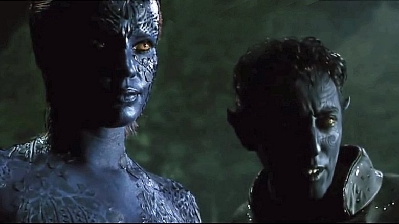 Mystique Nightcrawler mother father