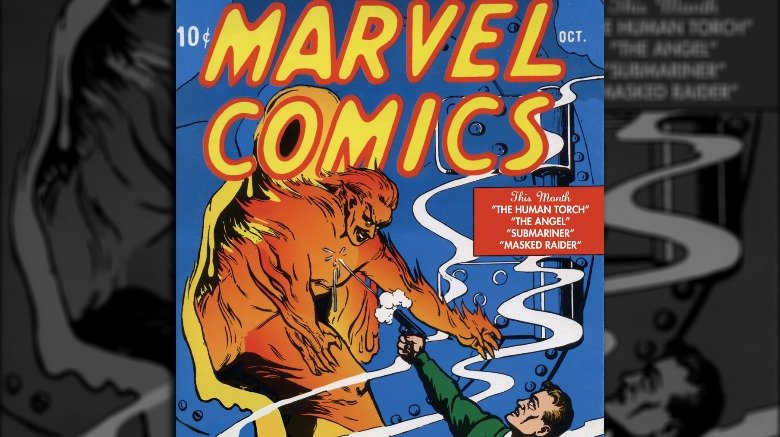 android human torch marvel issue 1