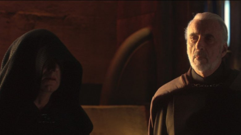Palpatine and Count Dooku