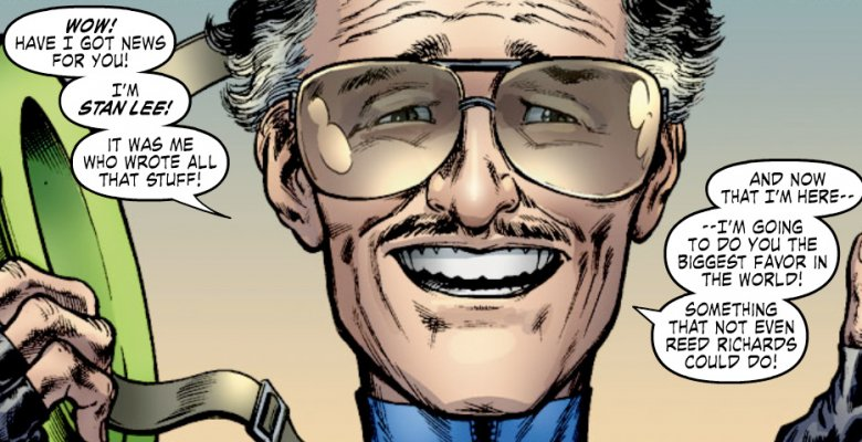 Stan Lee fourth wall