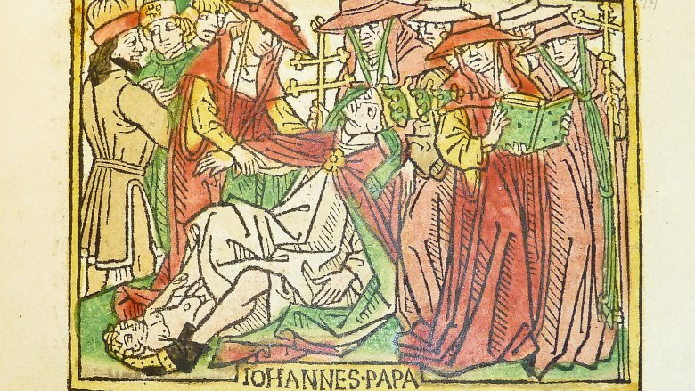 pope joan woodcut