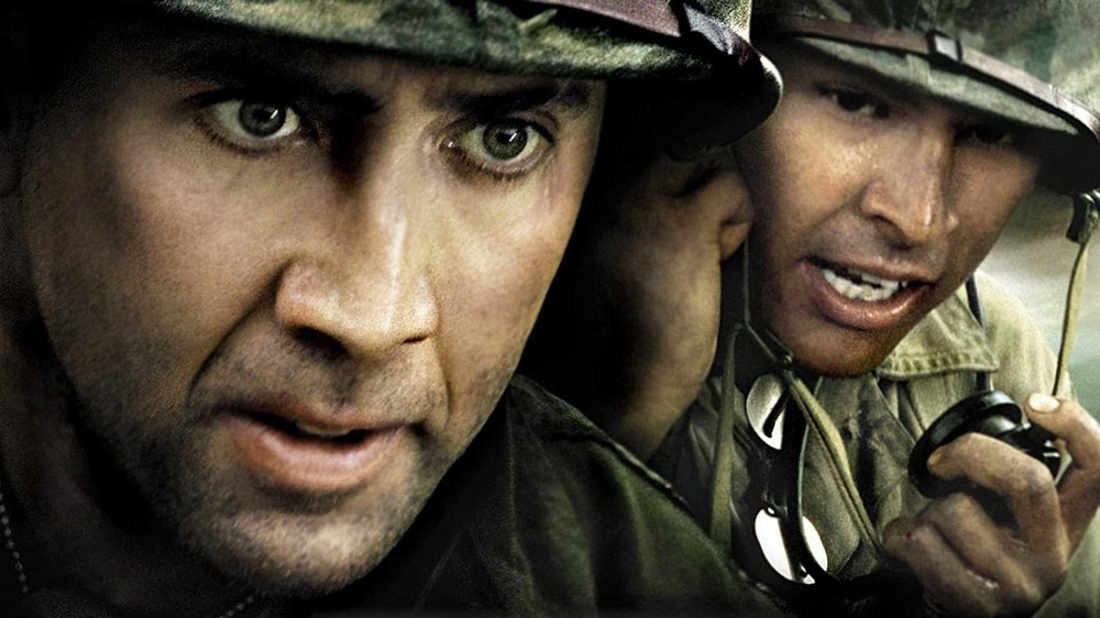 Nicolas Cage and Adam Beach in 'Windtalkers'