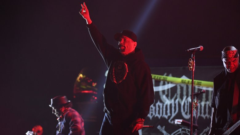 Ice-T performing with Body Count