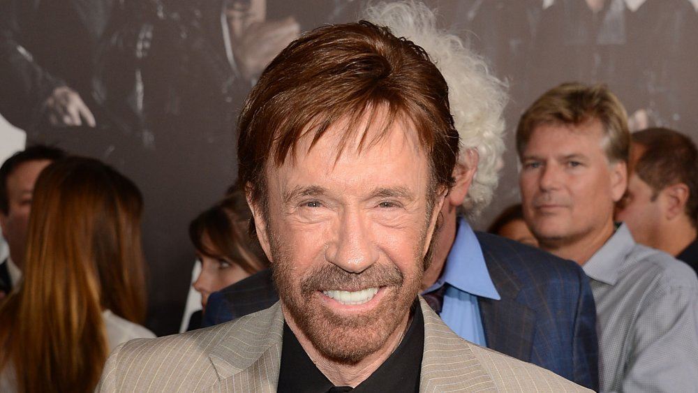 How many black belts does Chuck Norris have?
