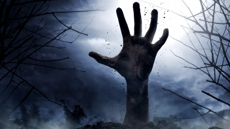hand from grave