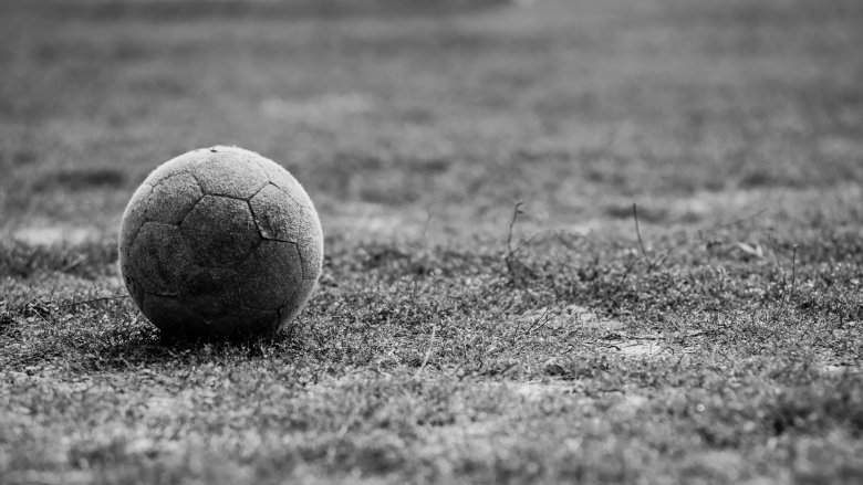 soccer ball old
