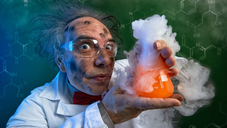 science experiment mad scientist chemical