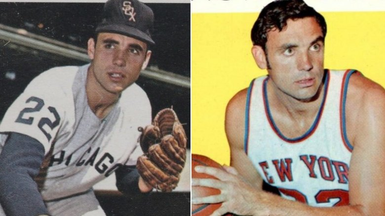 Dave DeBusschere Baseball and Basketball cards