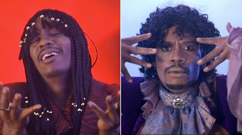 Dave Chappelle as Rick James and Prince