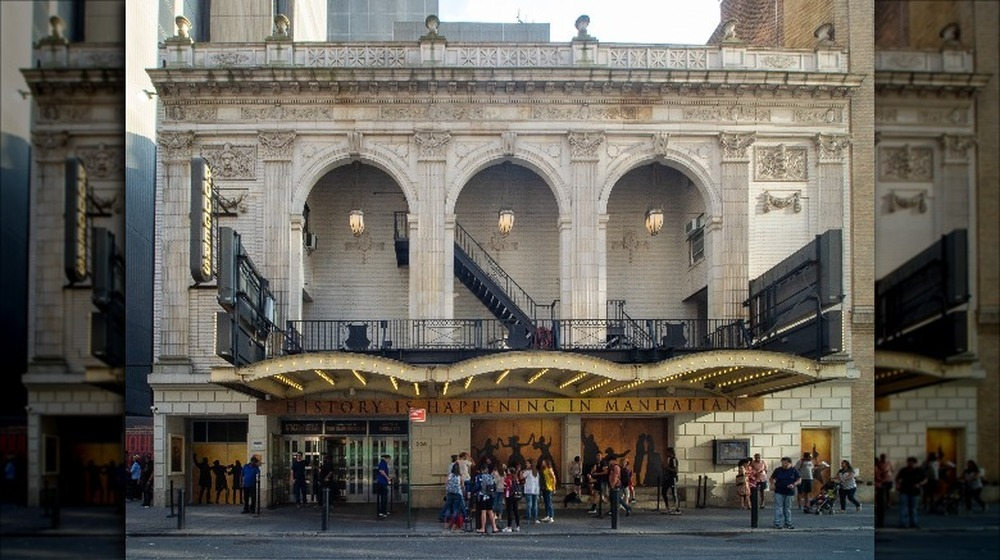 front of Richard Rodgers Theatre