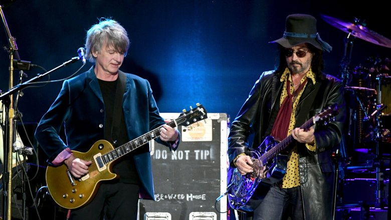 Neil Finn and Mike Campbell