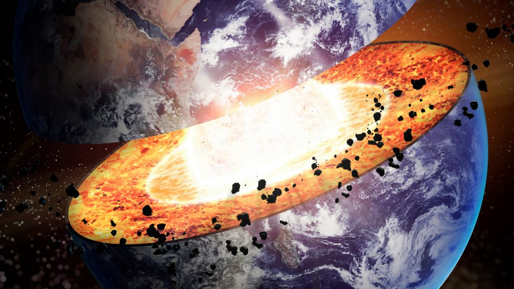The Reason The Earth U0026 39 S Core Is So Hot