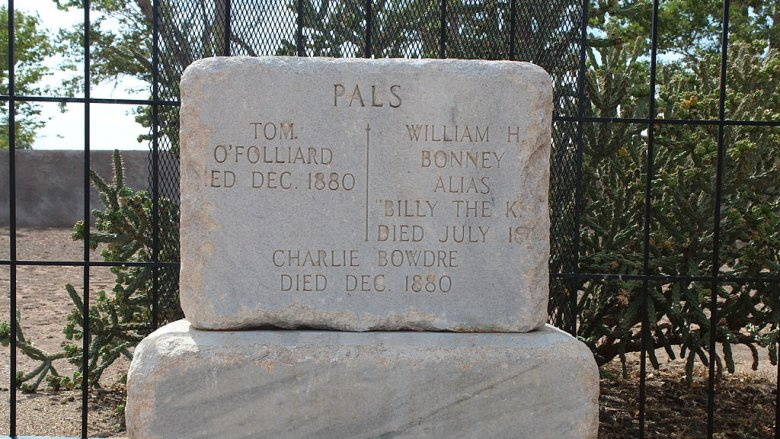 Billy the Kid tombstone