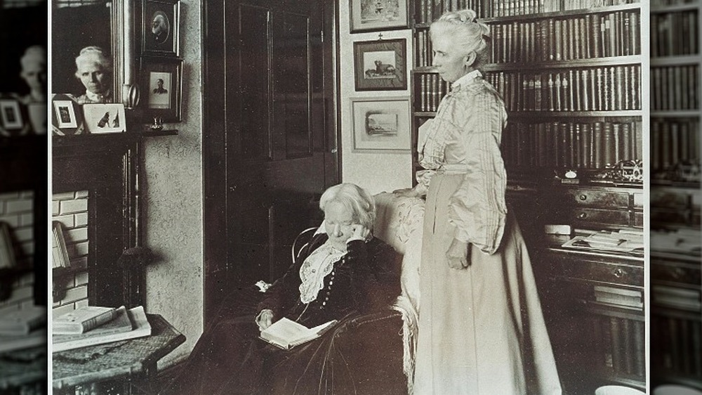 Kitty Barry with Elizabeth Blackwell