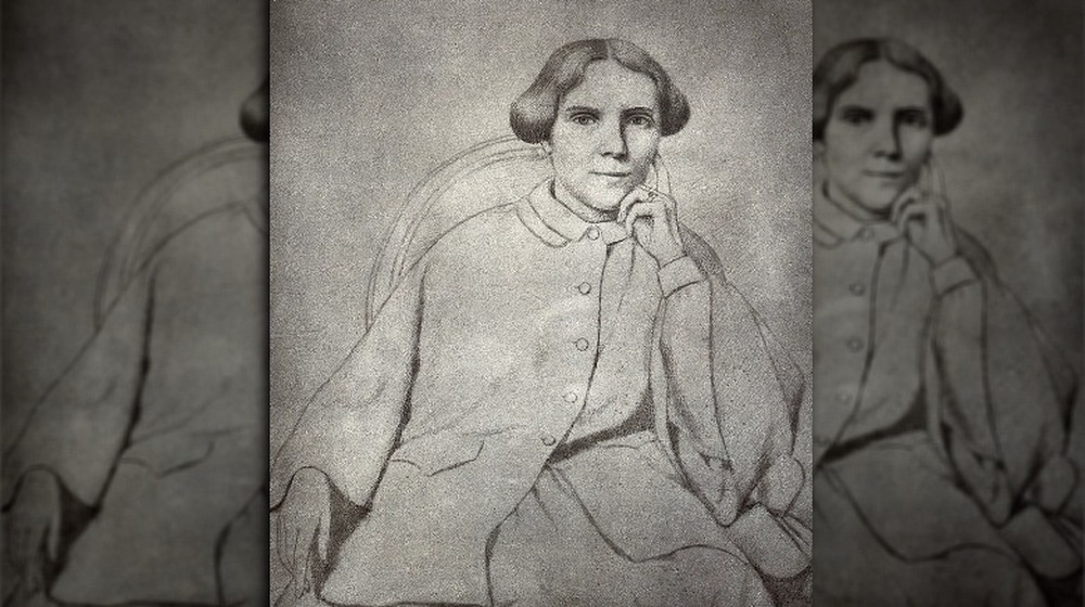 Drawing of Elizabeth Blackwell as a young woman