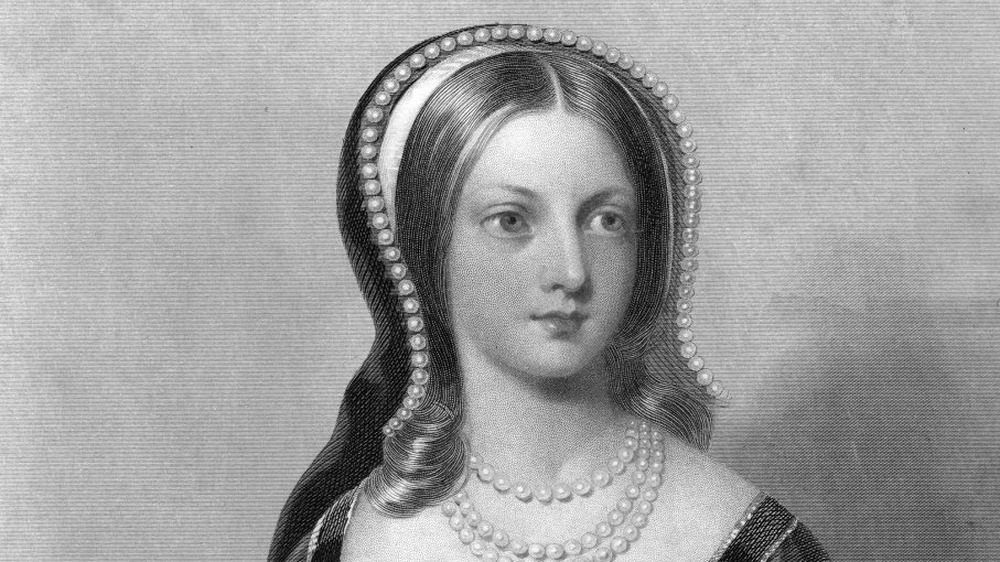 A 1753 engraving of Lady Jane Grey