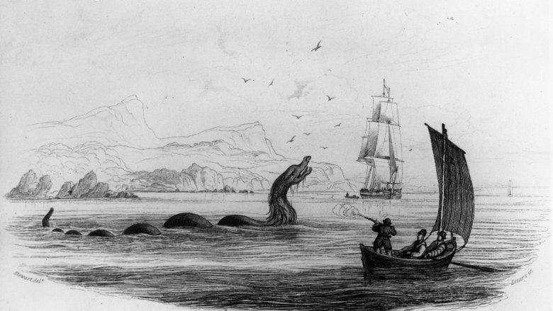 sea monster drawing