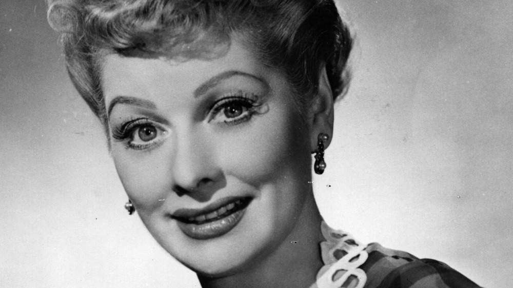 Publicity photo of Lucille Ball smiling