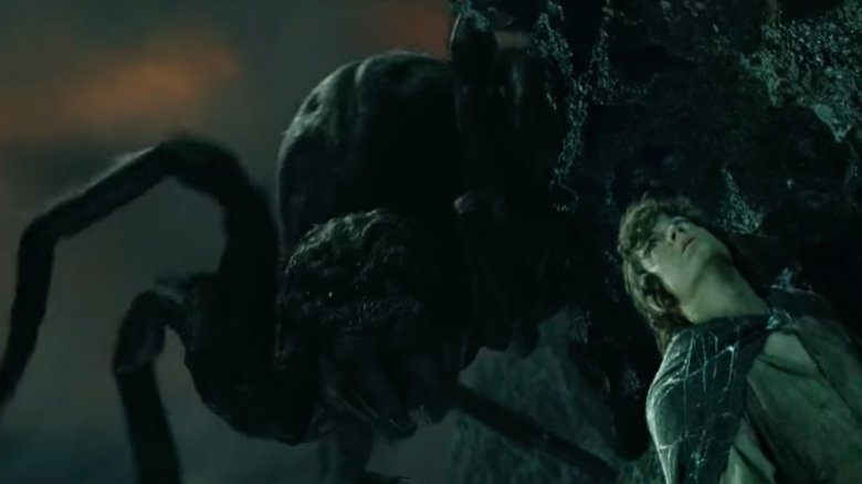 Shelob and Frodo