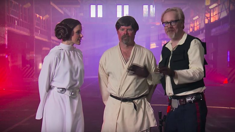 Star Wars Mythbusters episode