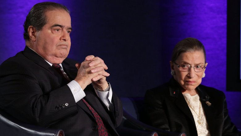 Antonin Scalia and Ruth Bader Ginsburg
