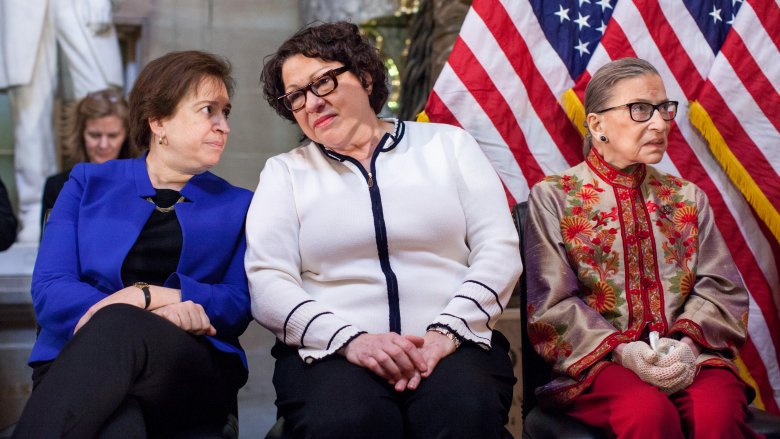 Elena Kagan, Sonia Sotomayor, and Ruth Bader Ginsburg