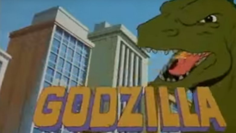 Godzilla animated series