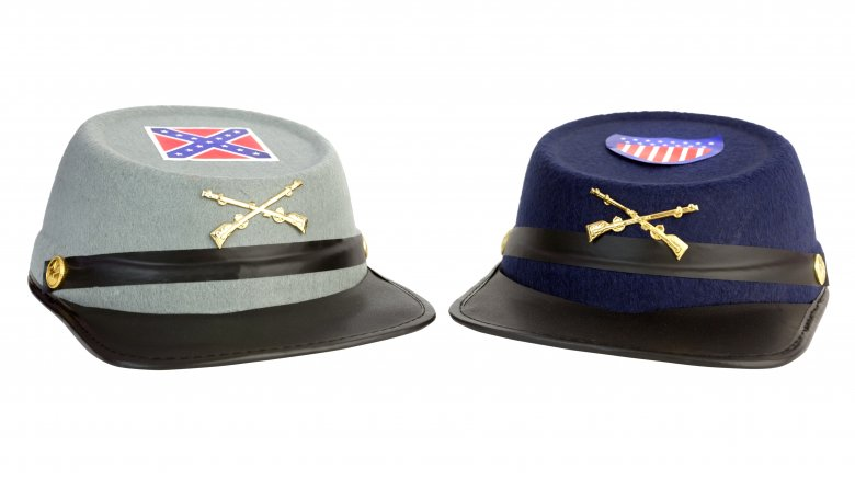 Civil War hats