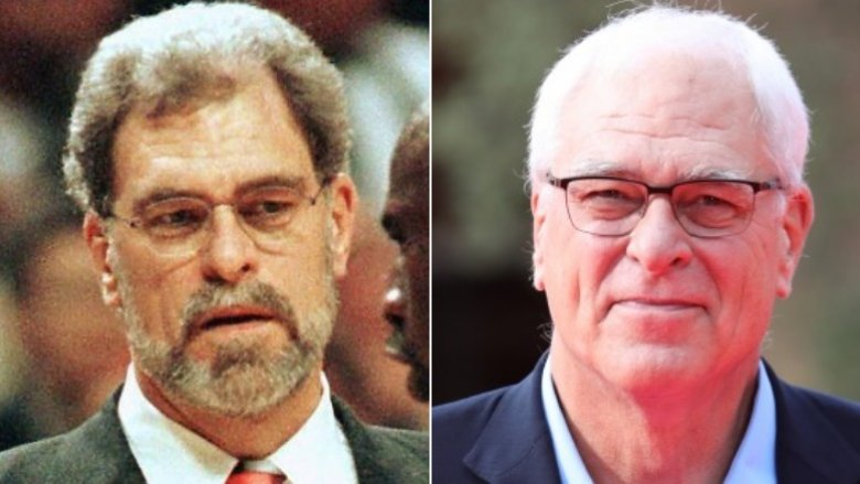 Phil Jackson then and now