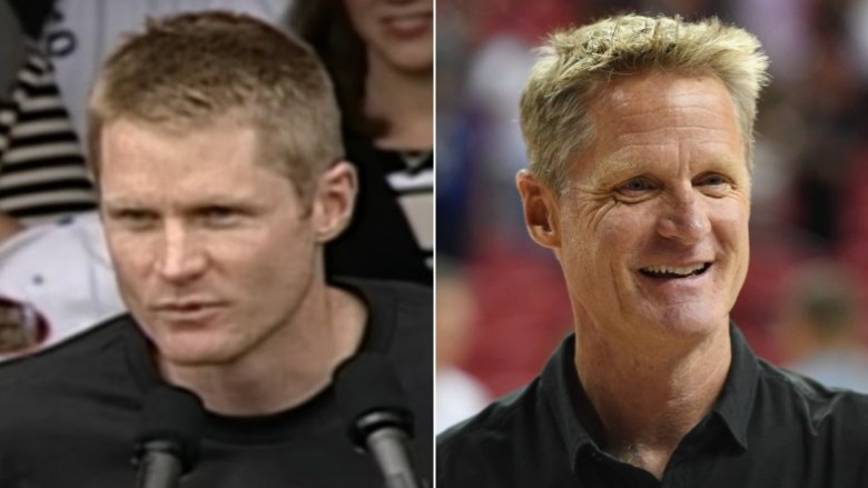 Steve Kerr then and now