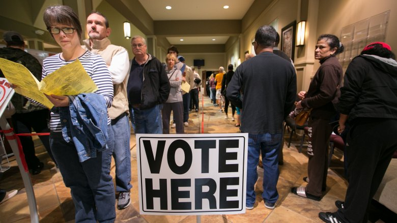lines at the polls 2018