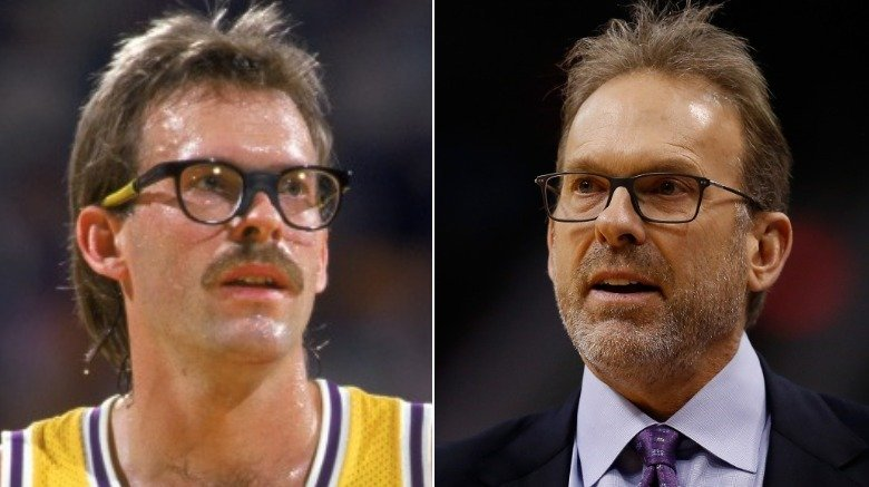 Kurt Rambis young and old