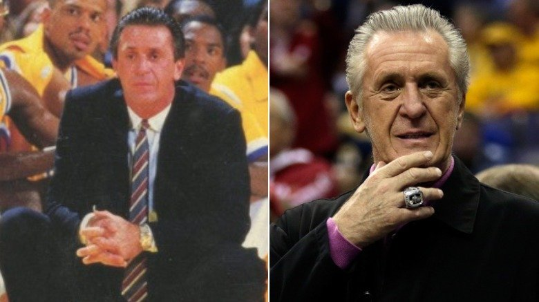 Pat Riley young and old