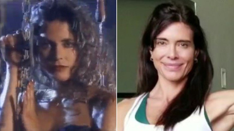 Rana Kennedy in Alice Cooper video and at pilates studio