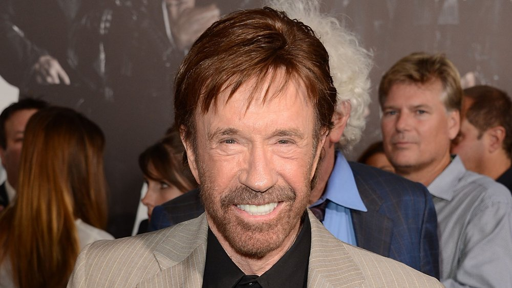 Who is Chuck Norris married to?