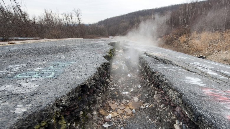 Why this fire has been burning under Centralia, PA for over 50 years